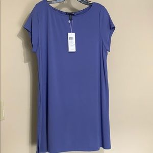 NWT Eileen Fisher Viscose Jersey Tunic Size Large